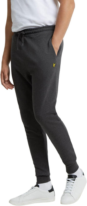 Lyle & Scott Skinny Jogger Bottoms	Charcoal Marl