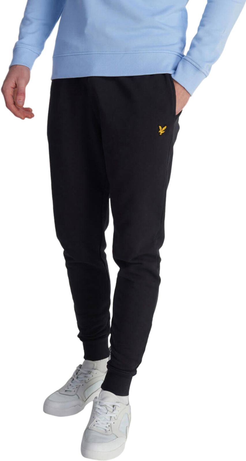 Lyle & Scott Skinny Jogger Bottoms Black