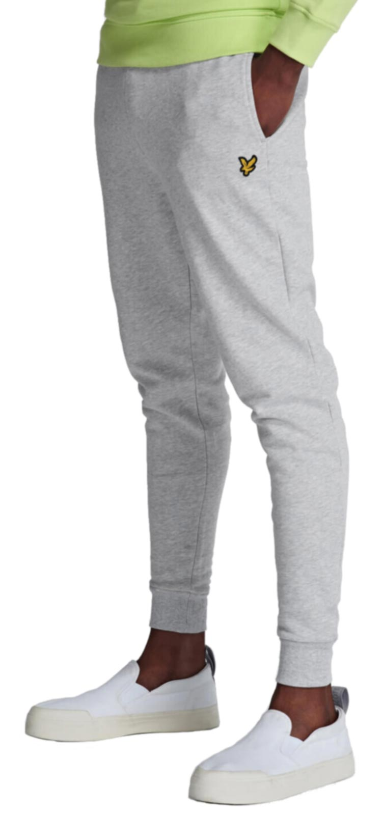 Lyle & Scott Skinny Jogger Bottoms Grey