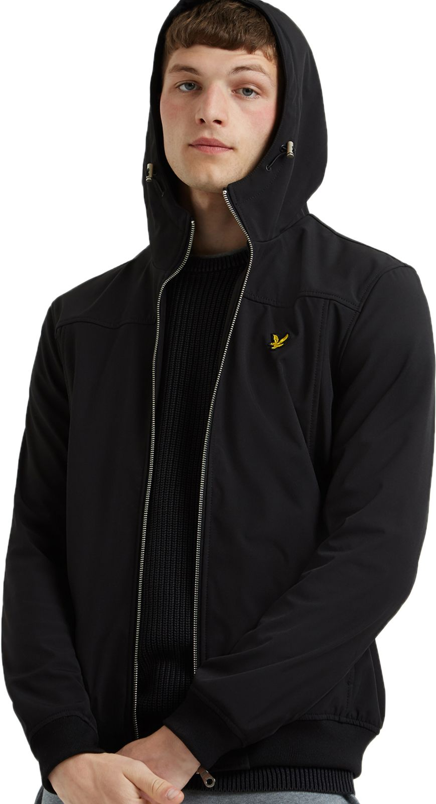 Lyle & Scott Softshell Lightweight Hooded Jacket