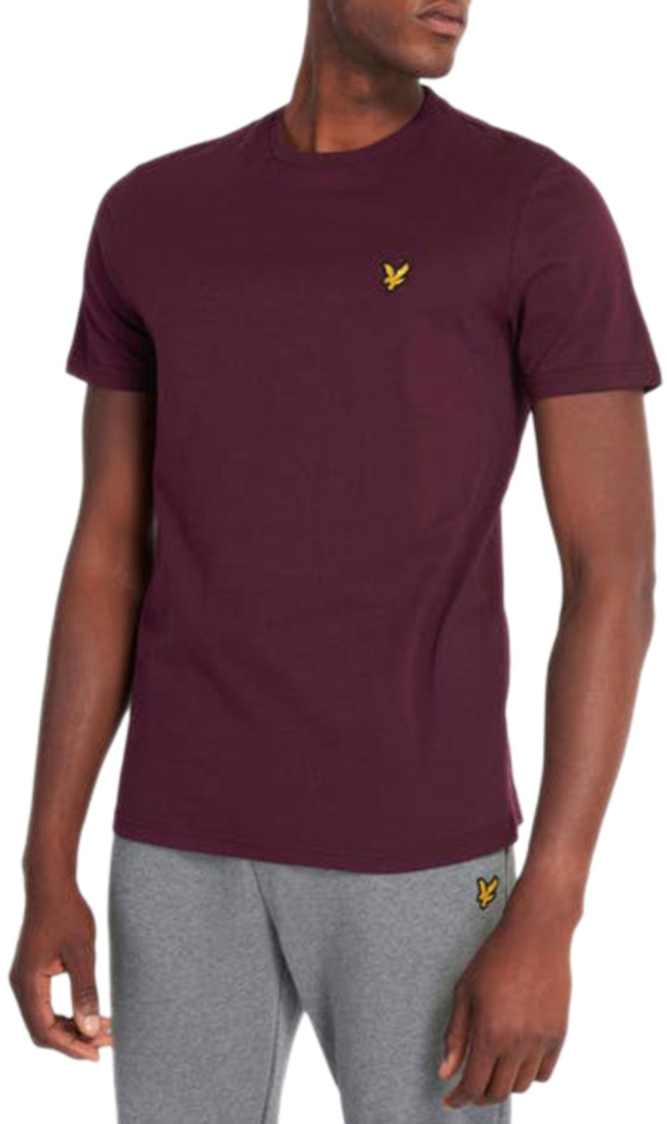Lyle & Scott T-Shirt Burgundy