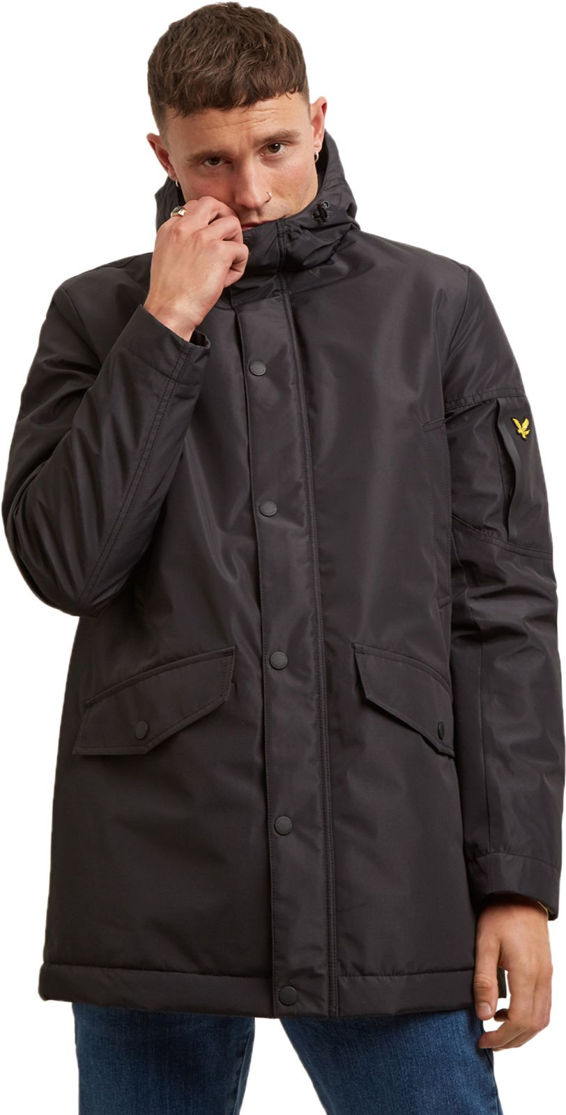 Lyle & Scott Technical Hooded Parka Jacket