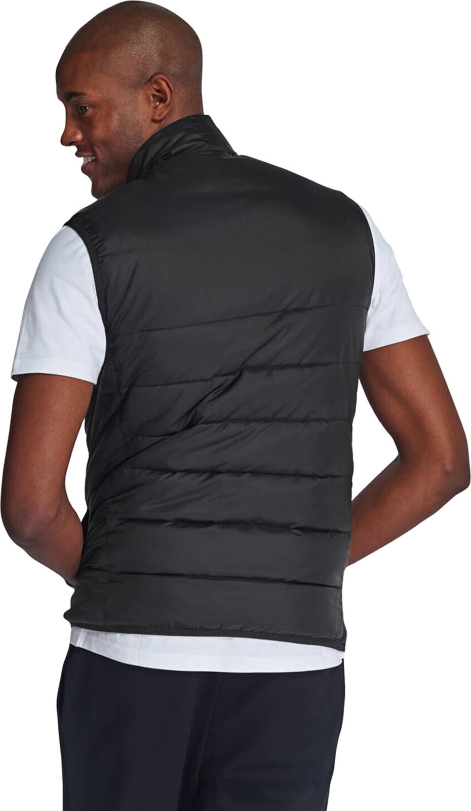 Lyle & Scott Wadded Gilet	Jet Black