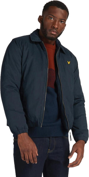 Lyle & Scott Wadded Harrington Jacket	Dark Navy