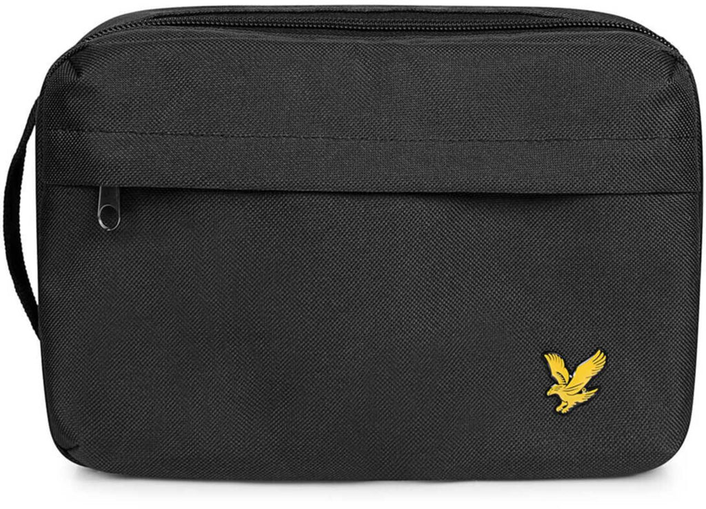 Lyle & Scott Wash Bag Black