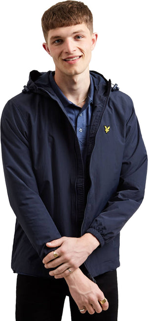 Lyle & Scott Zip Front Lightweight Hooded Jacket