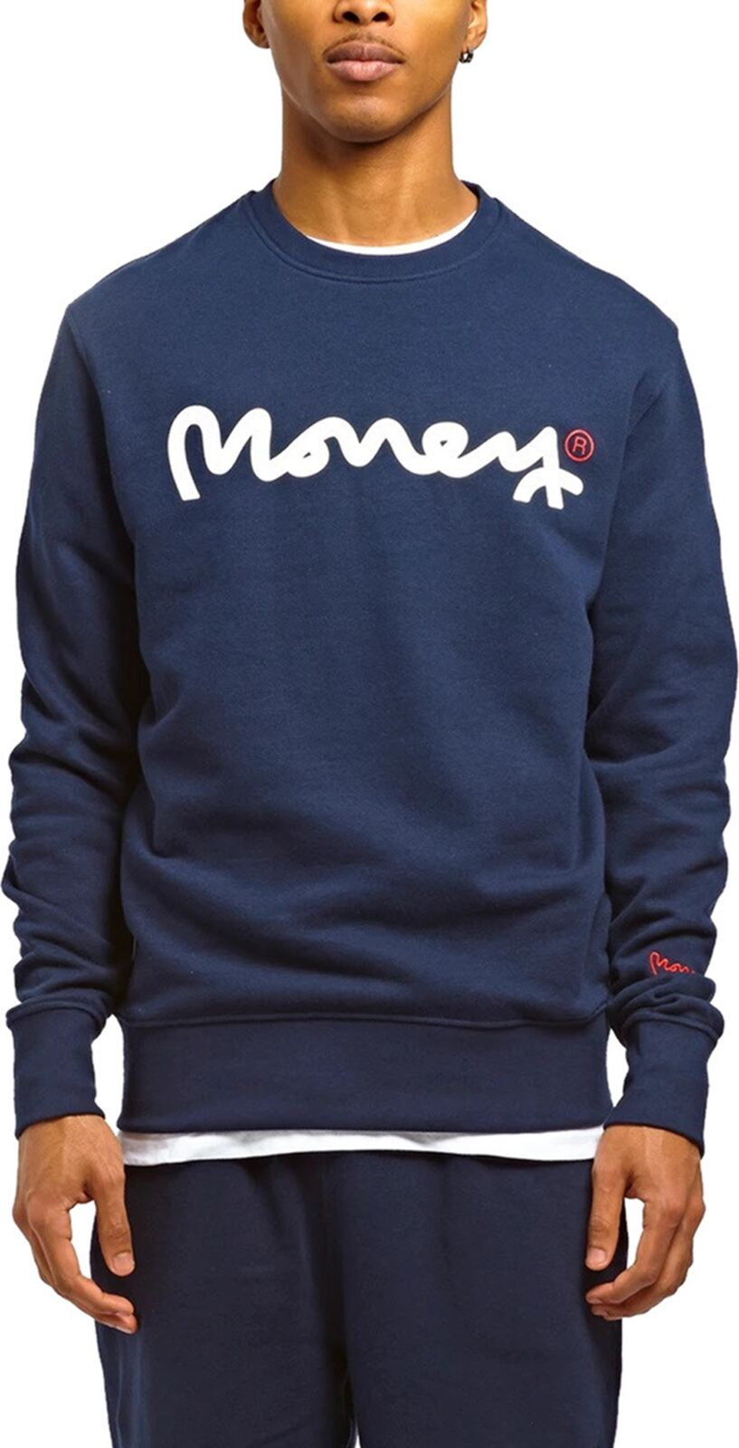 Money Chop Sig Ape Sweatshirt Navy