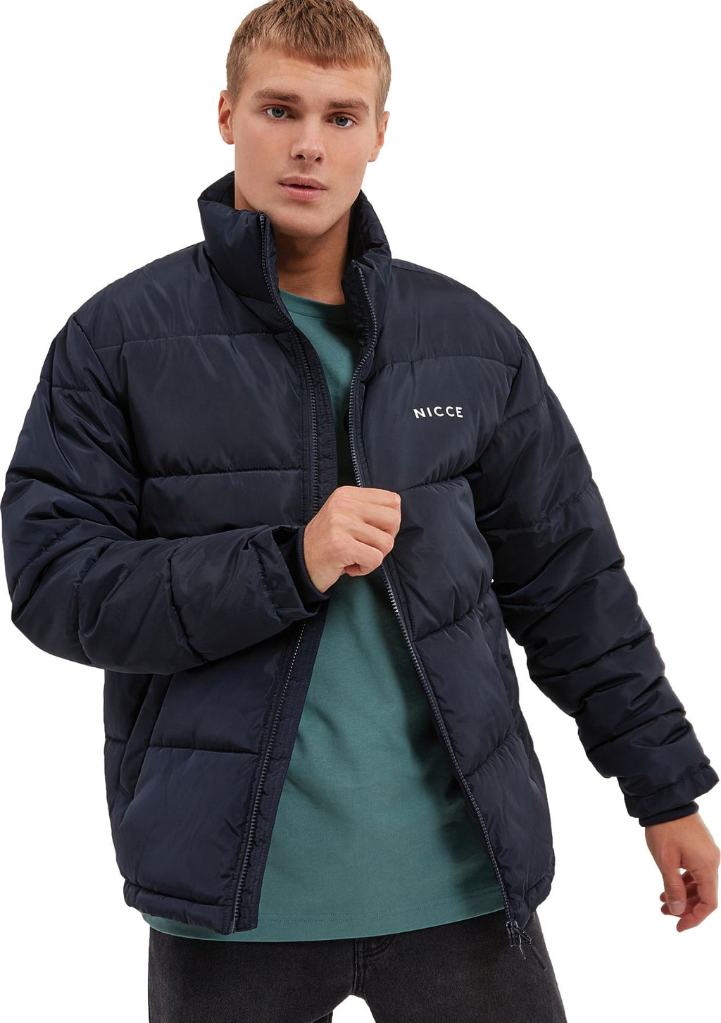 NICCE Deca Padded Jacket Navy