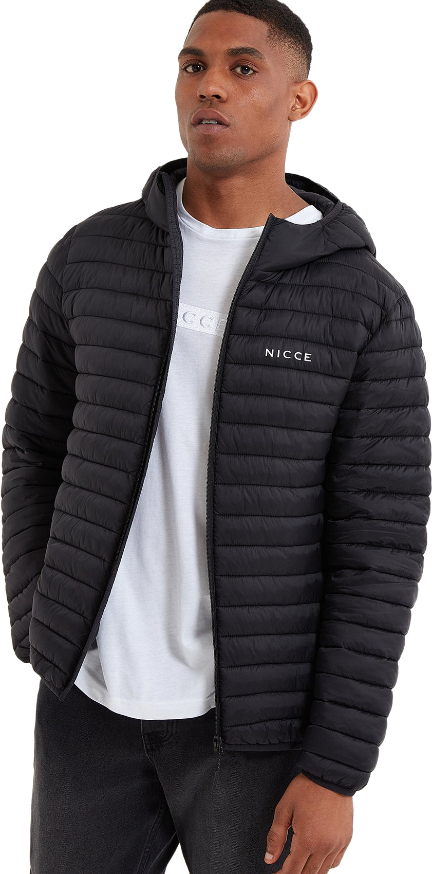 NICCE-Maidan-Hooded-Puffer-Jacket-Black