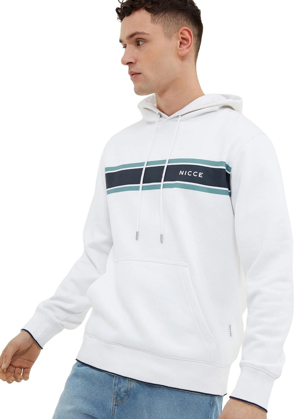 NICCE Universe Hoodie White