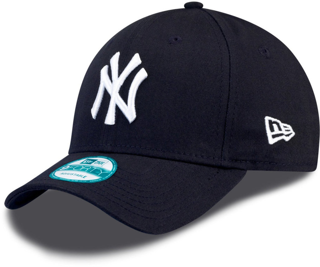 New Era 9FORTY New York Yankees Adjustable Baseball Cap Navy