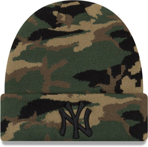New Era New York Yankees LG Beanie Hat Camo