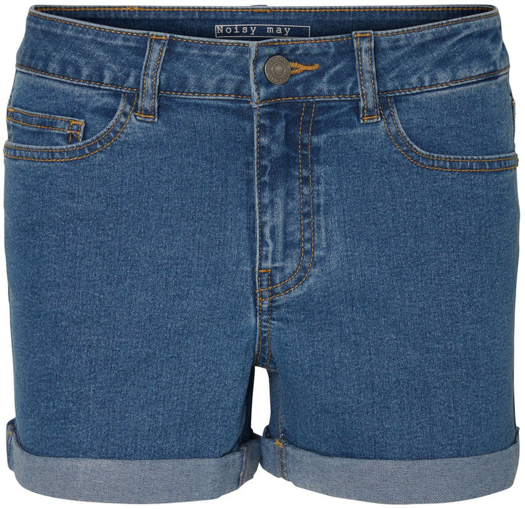 Noisy May Lucy Denim Shorts Blue