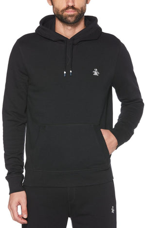 Original Penguin Sticker Pete Hoodie Black