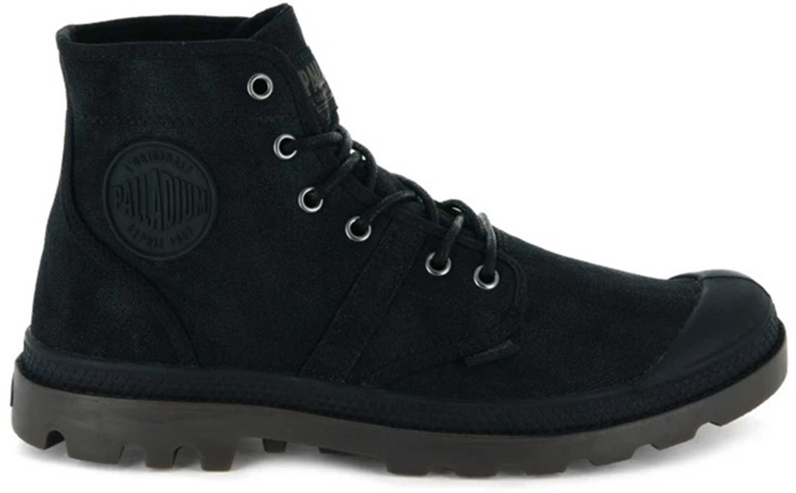 Palladium Pallabrouse Wax Canvas Boots
