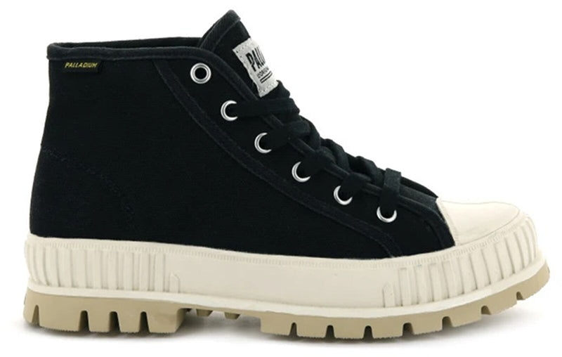 Palladium Pallashock Original Mid Top Boots Black