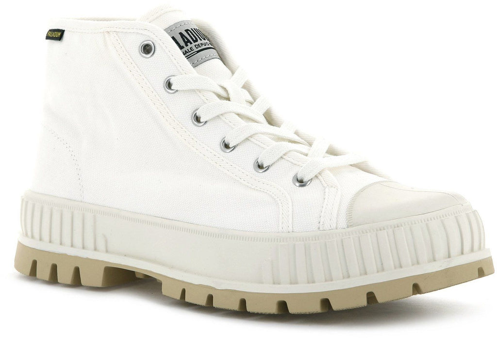 Palladium Pallashock Original Mid Top Boots Off-White