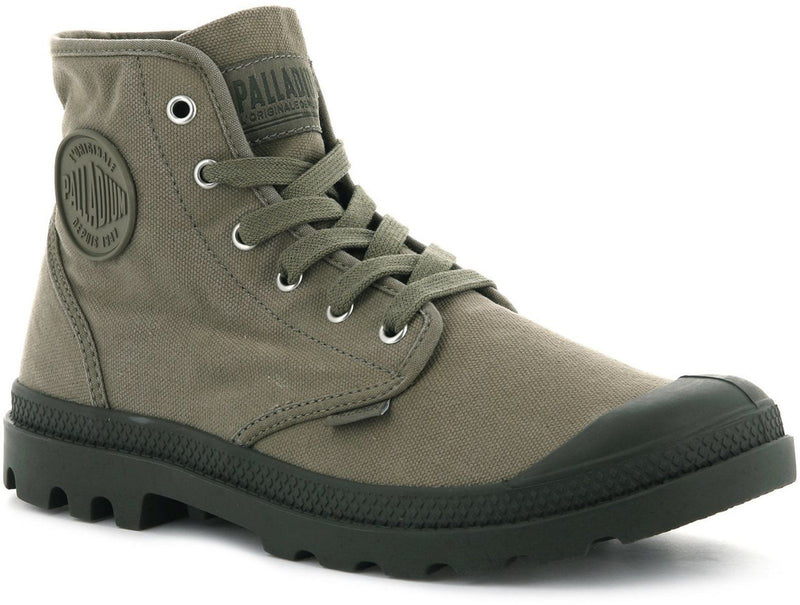 Palladium Pampa Hi Top Boots Khaki