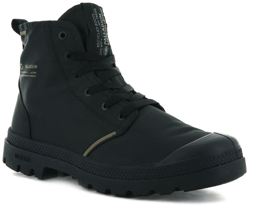 Palladium Pampa Lite Recycled Waterproof Boots Black