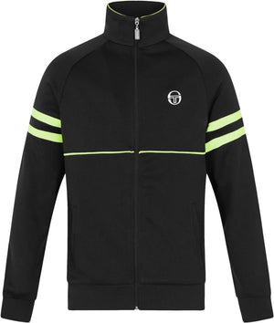 Sergio Tacchini Orion Zip Front Track Top Black