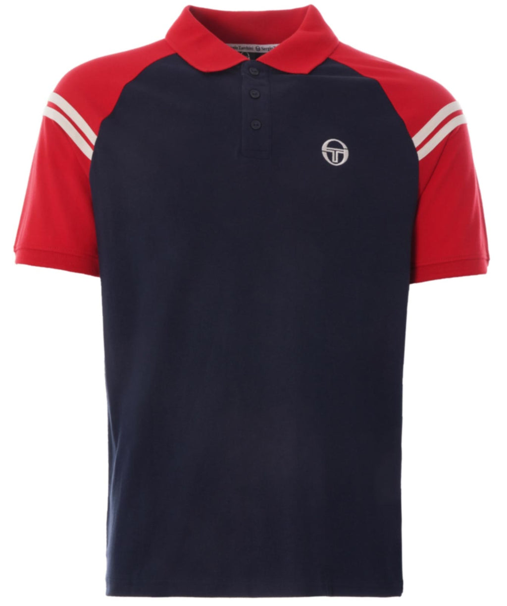 Sergio Tacchini Sonny Polo Shirt	Total Eclipse