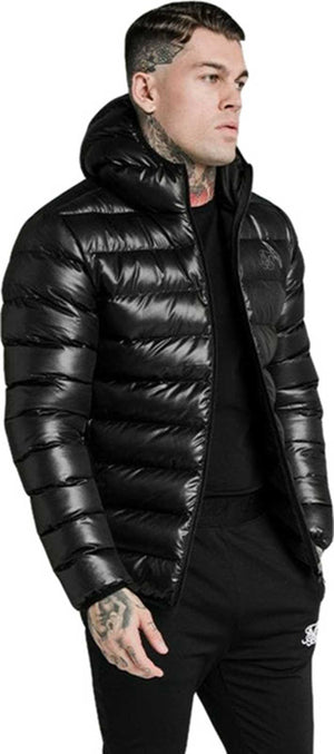 Sik Silk Atmosphere Jacket Black