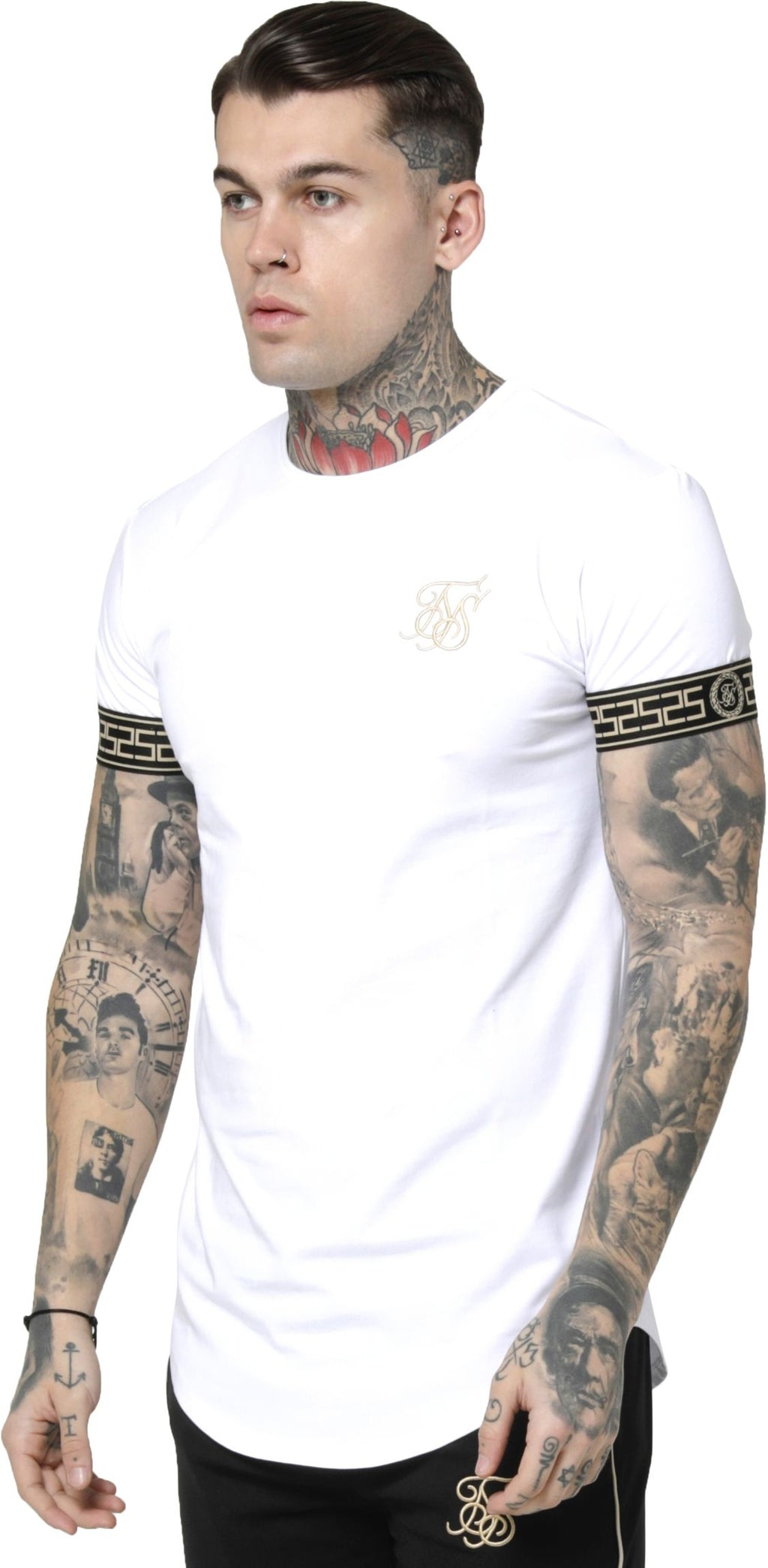 Sik Silk Cartel Cuff T-Shirt