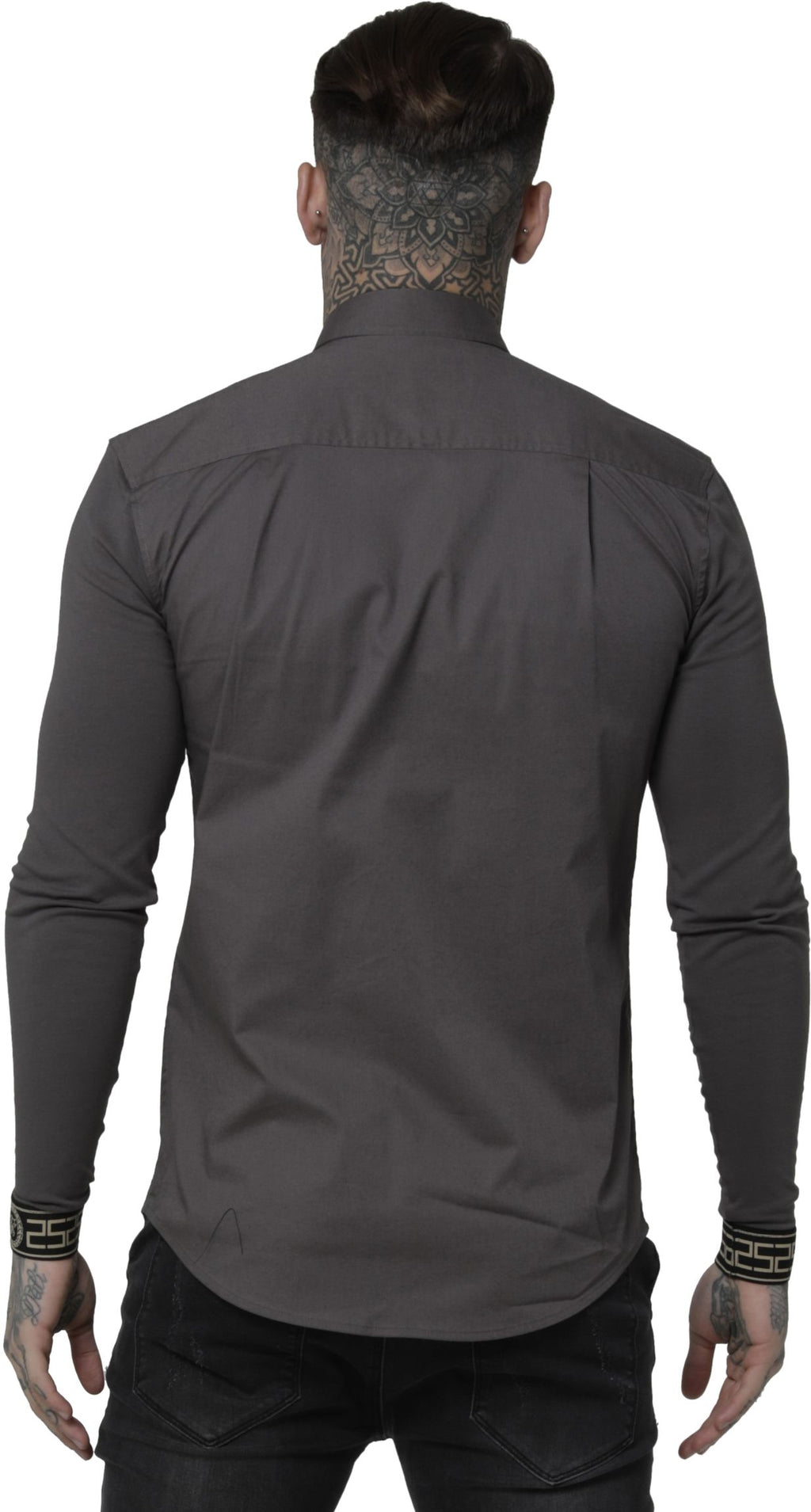 Sik Silk Cartel Jersey Long Sleeve Shirt Charcoal