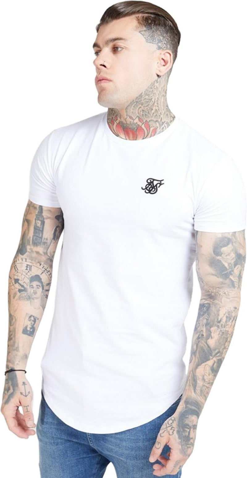 Sik Silk Core Gym T-Shirt White