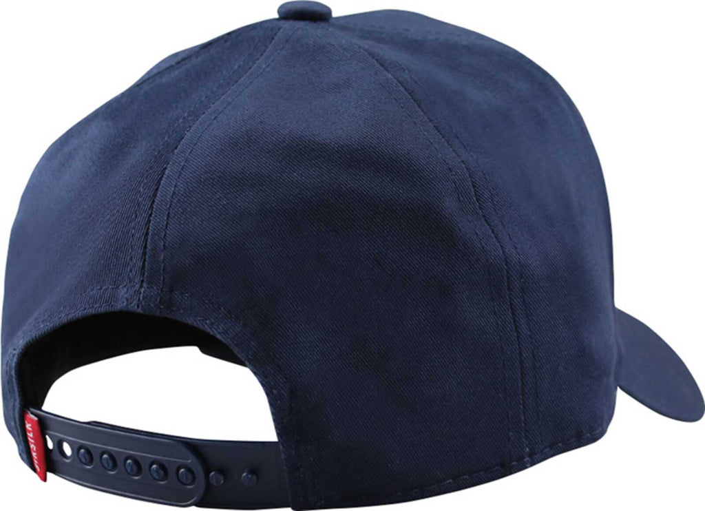 Sik Silk Patch Trucker Baseball Cap	Navy