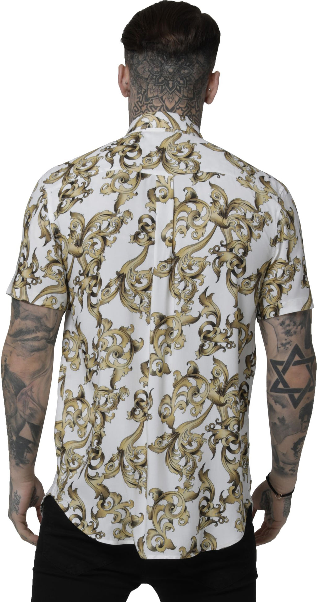 Sik Silk Resort Short Sleeve Shirt White