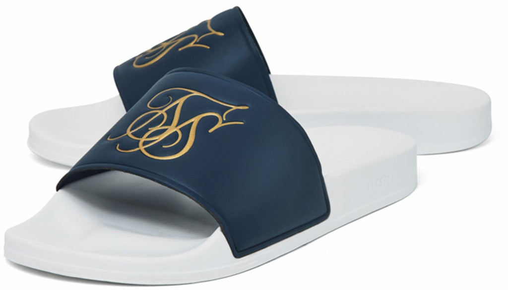 Sik Silk Roma Sliders Blue