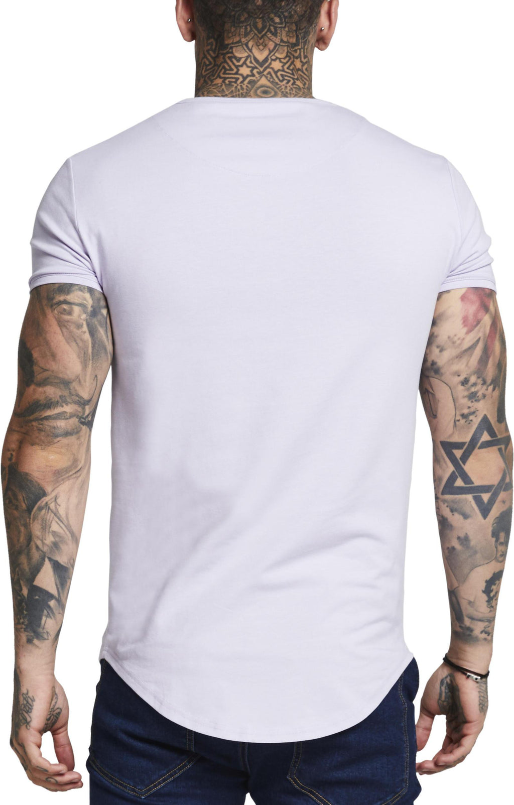Sik Silk Short Sleeve Gym T-Shirt Lilac