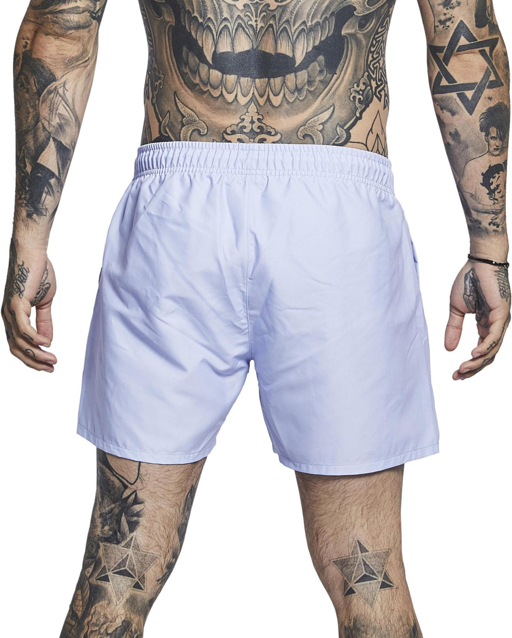 Sik Silk Standard Swim Shorts Light Blue