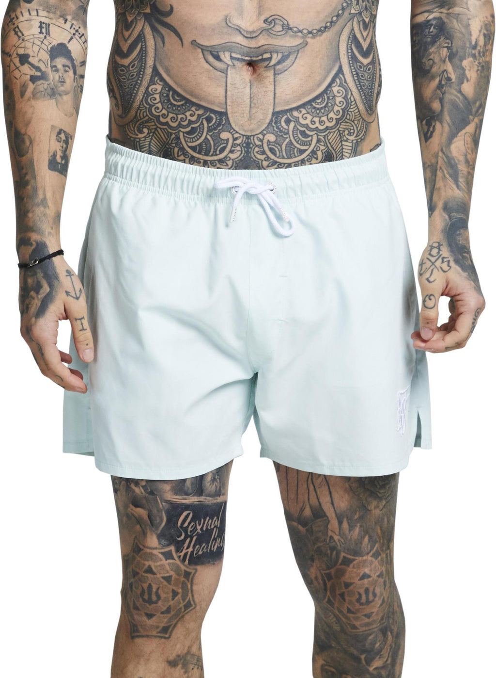 Sik Silk Standard Swim Shorts Mint
