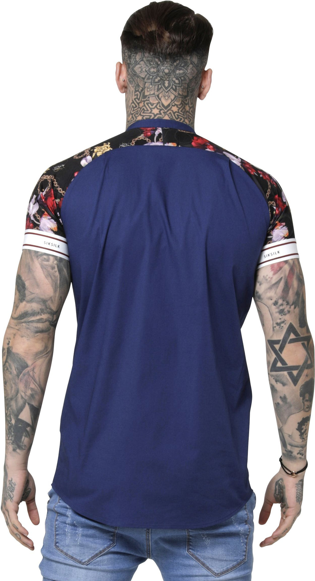 Sik Silk Starlite Raglan Tech Short Sleeve Shirt