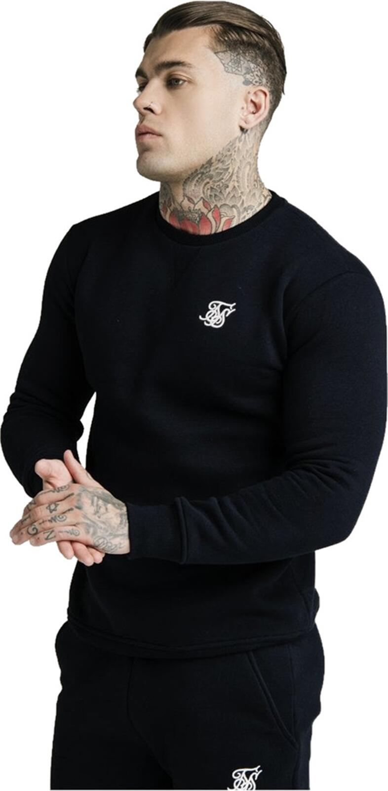 Sik Silk Sweatshirt Black