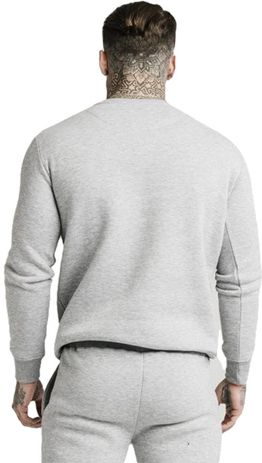 Sik Silk Sweatshirt Grey