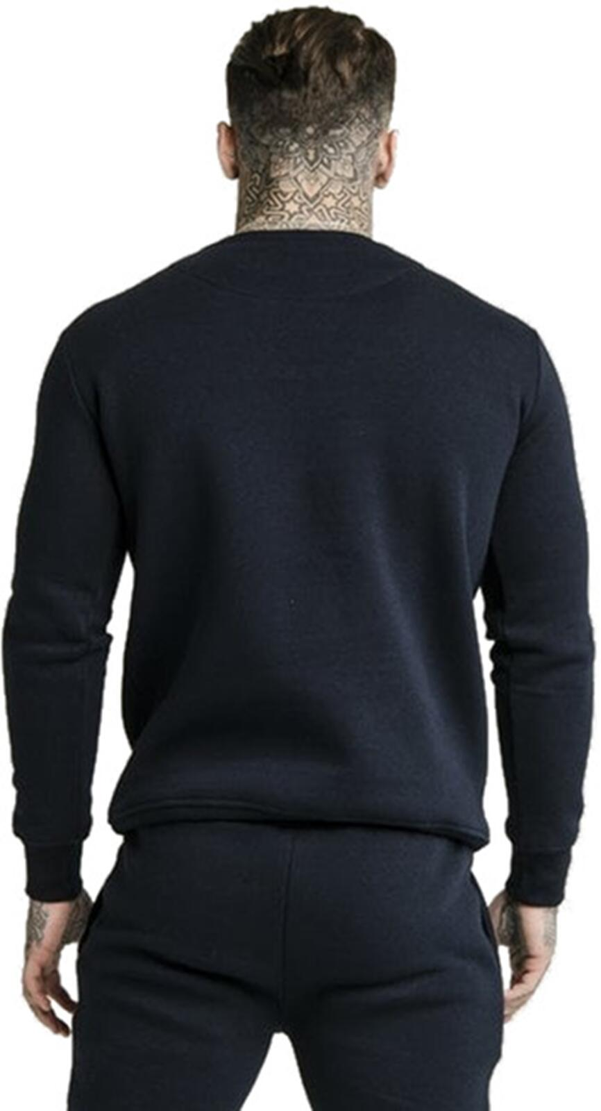 Sik Silk Sweatshirt Navy