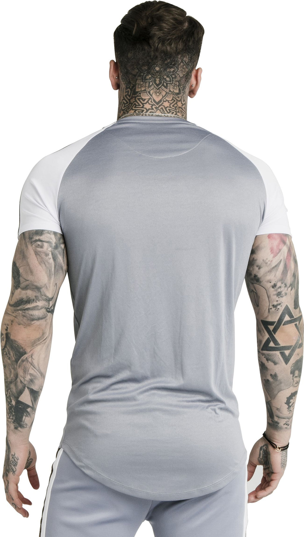 Sik Silk Taped Contrast T-Shirt