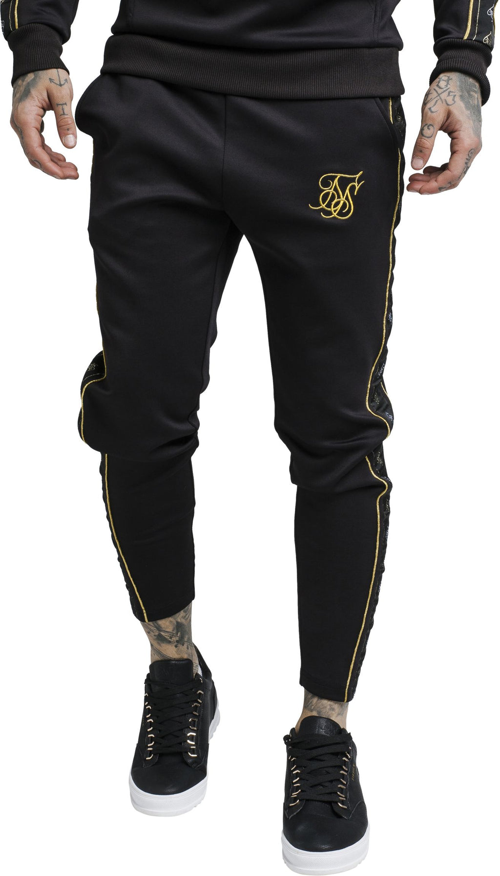Sik Silk Taped Track Pants
