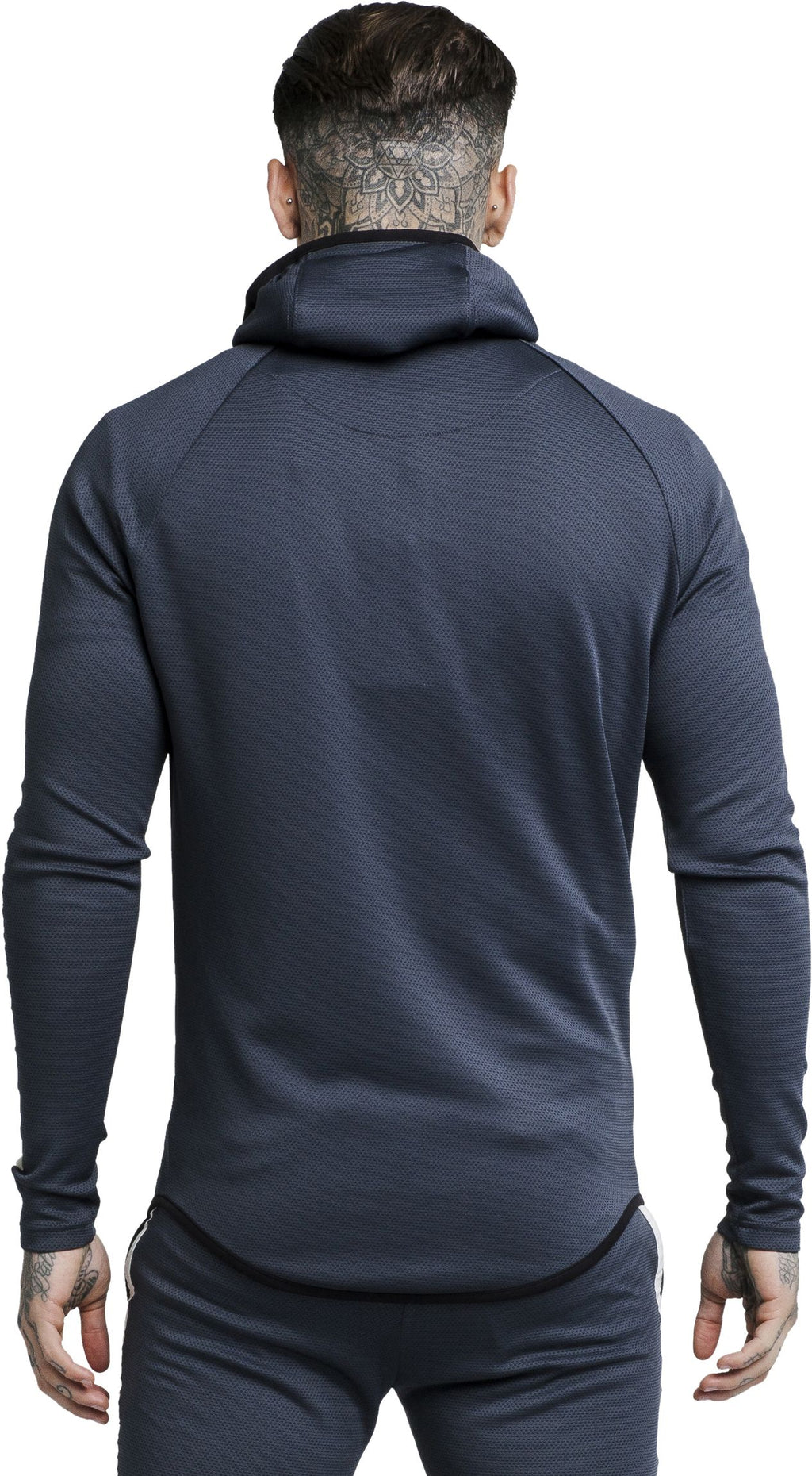 Sik Silk Tech Athlete Hoodie Black