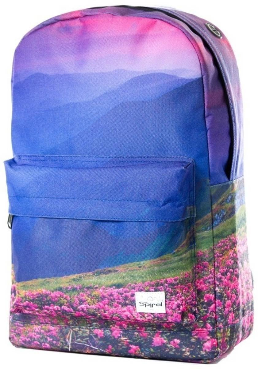 Spiral Mountain Blossom OG Backpack Rucksack Bag Multi