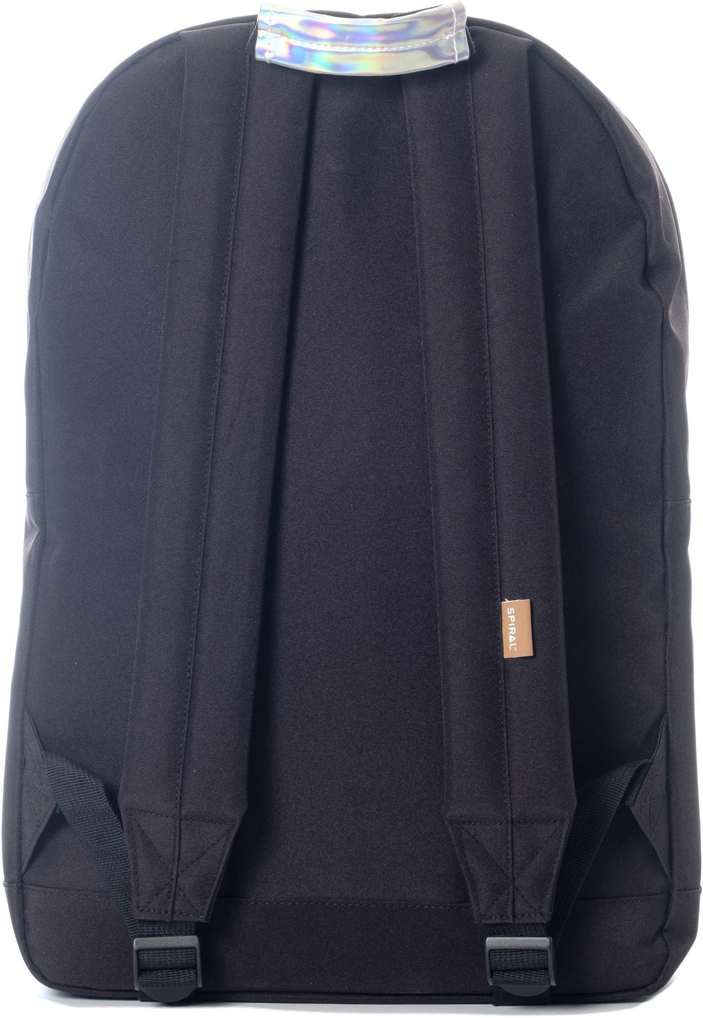 Spiral Rave Pocket Backpack Bag Black