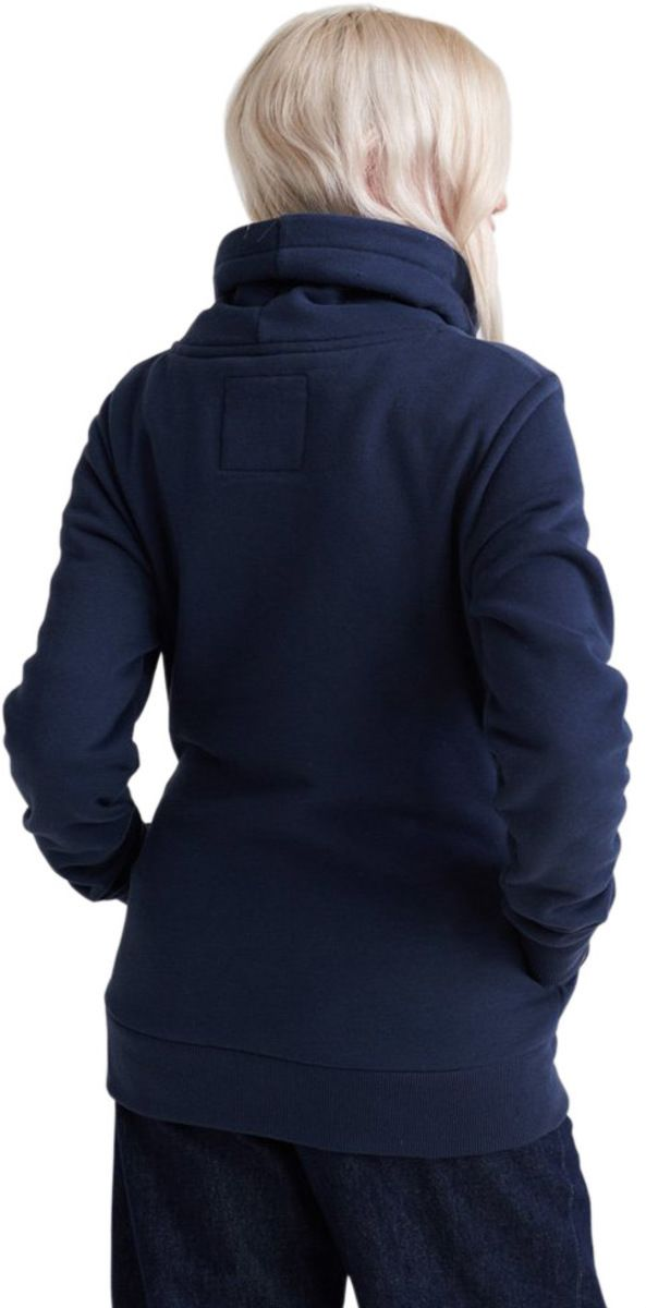 Superdry Applique Funnel Neck Hoodie