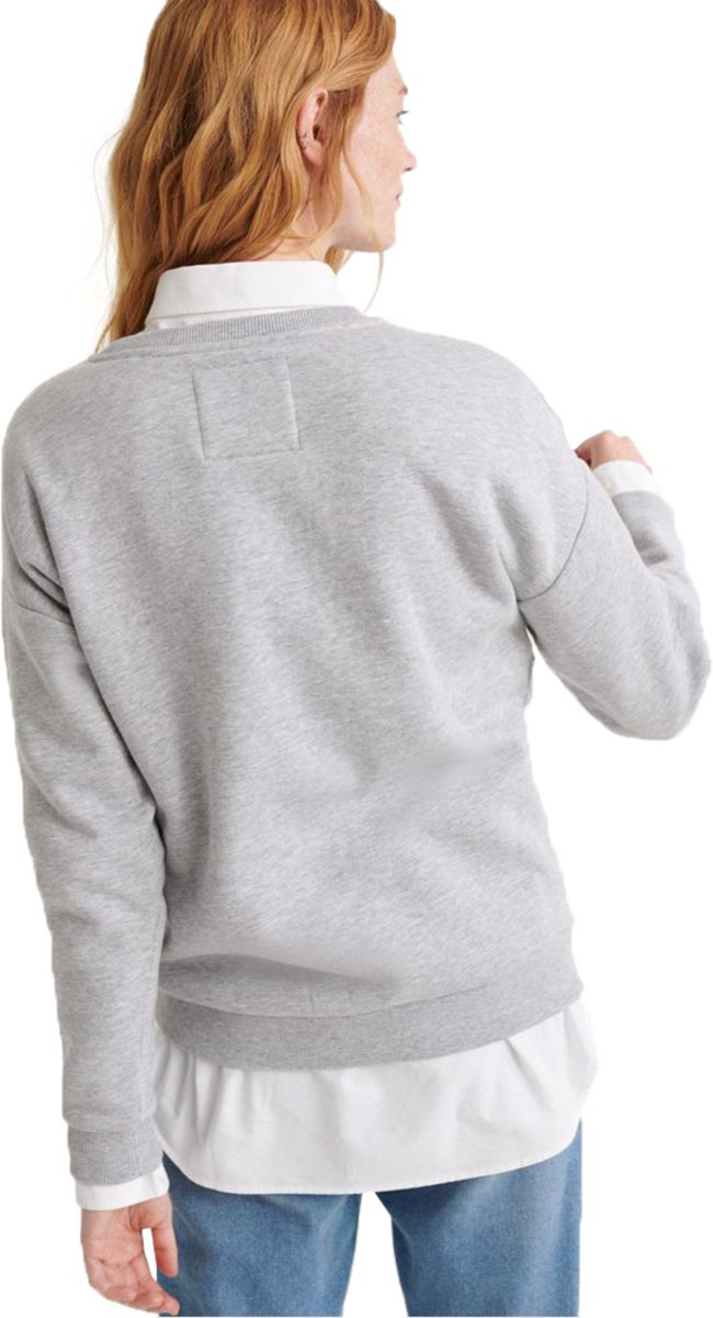 Superdry Applique Sweatshirt Grey
