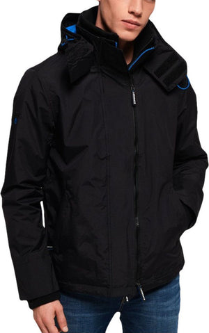 Superdry Arctic Pop Zip Hooded SD-Windcheater Jacket Black