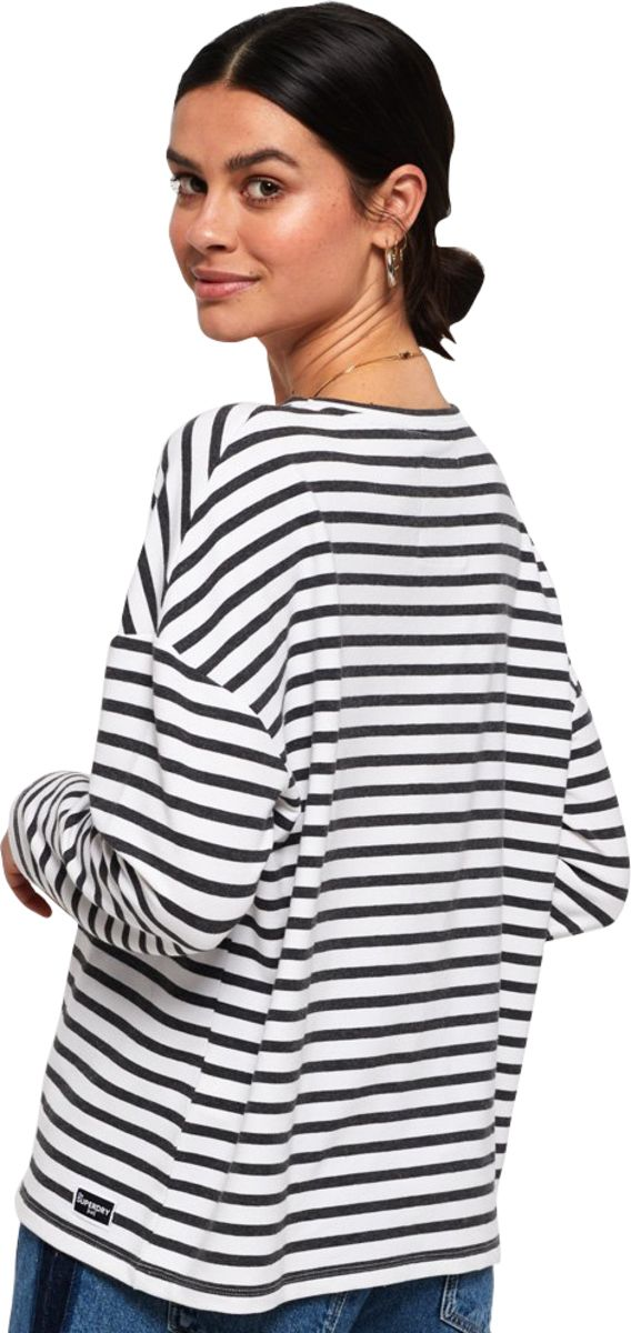 Superdry Ashby Stripe Long Sleeve Top
