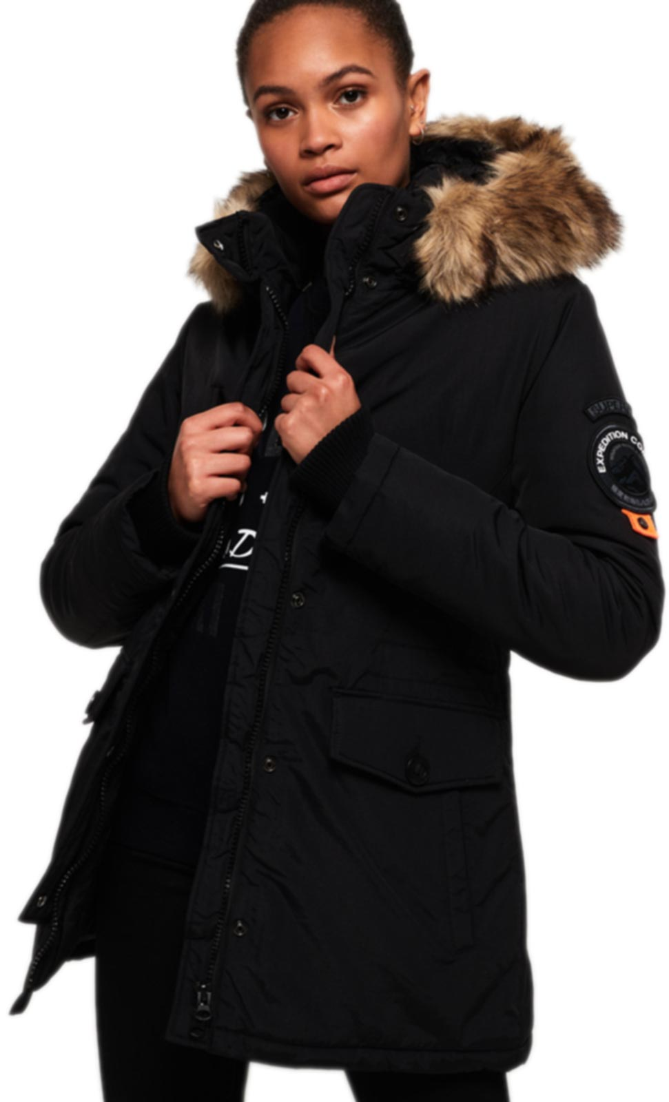 Superdry Ashley Everest Jacket Black