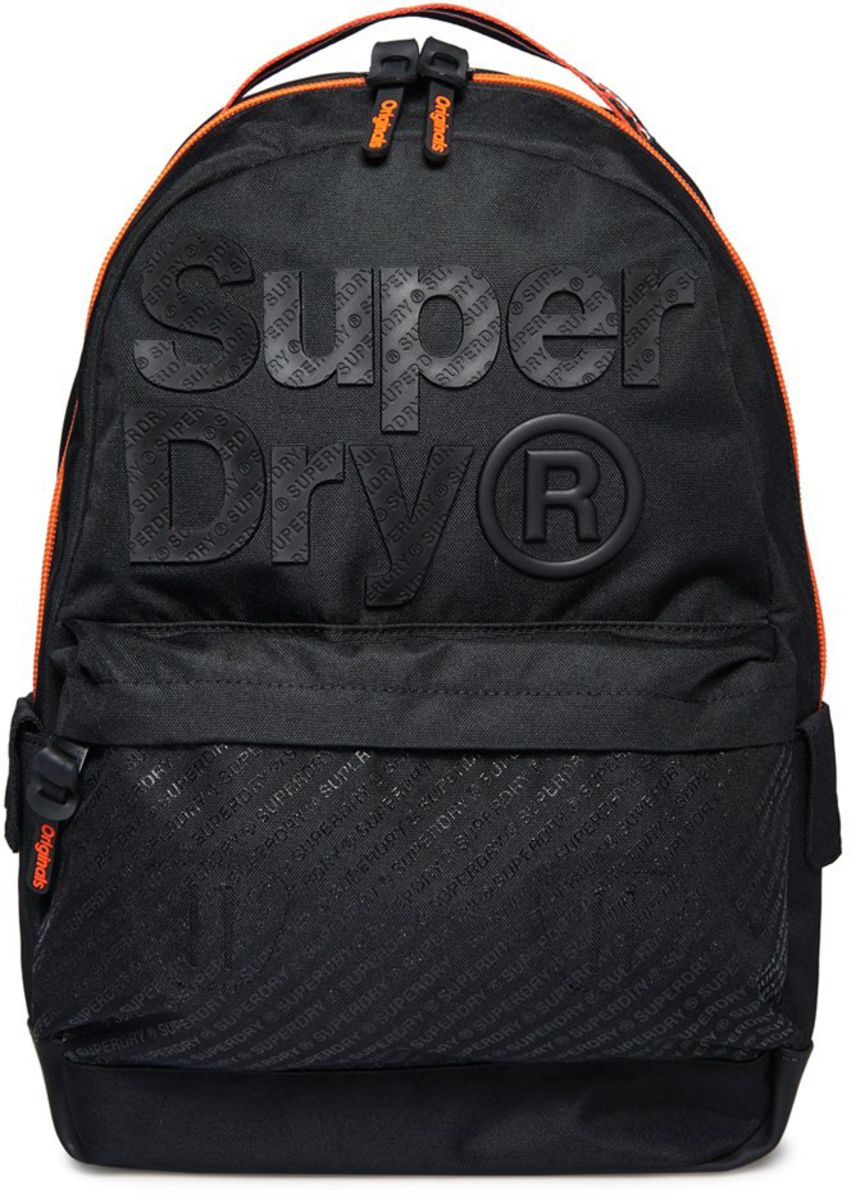 Superdry B Boy Montana Backpack Bag Black